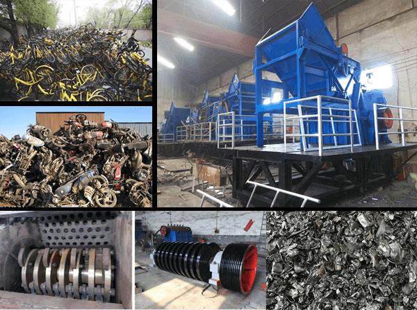 废钢破碎机所带来的节能环保价值
