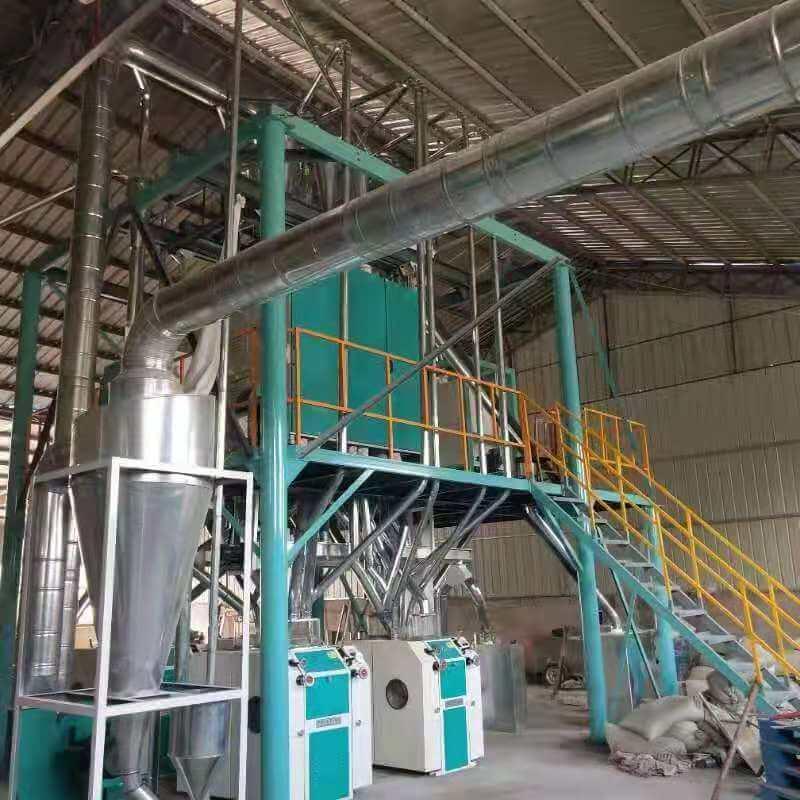 豫见牌环保型玉米芯磨粉机结构展示