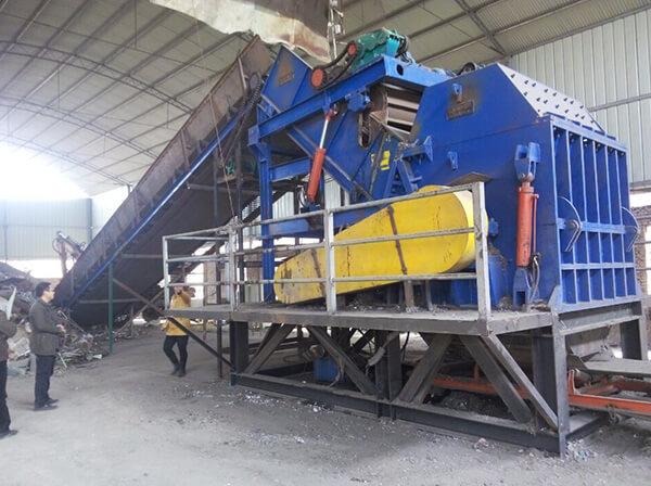 废钢破碎机的安全生产对于企业的重要性